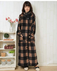 毛布 ユニクロ 着る